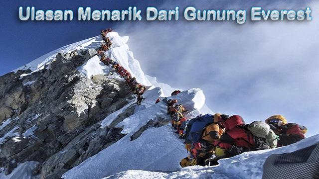 Ulasan Menarik Dari Gunung Everest