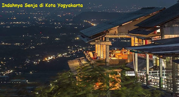 Indahnya Senja di Kota Yogyakarta