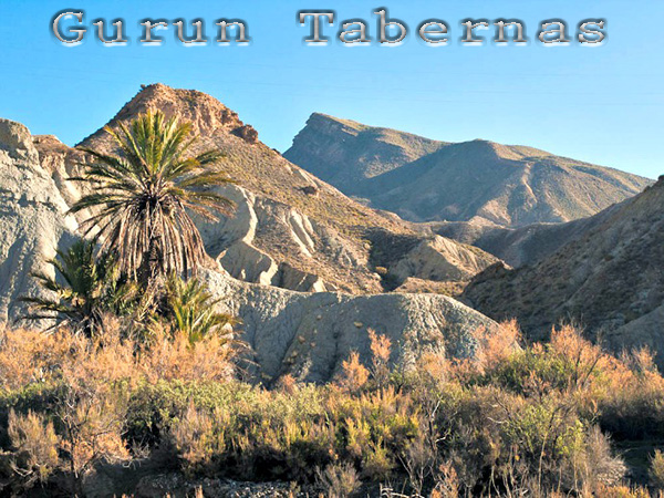 Gurun Tabernas, Spanyol