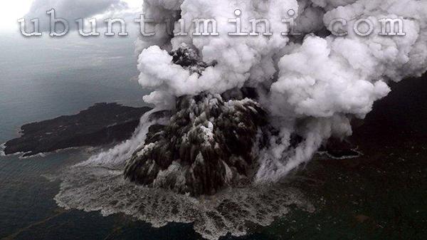 Letusan Gunung Berapi Terdahsyat di Dunia